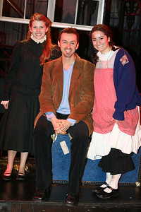 """Katie, Andrew Lippa and Joelle from """"Little Princess"""" 12/06"""
