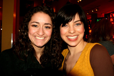 """Joelle with Krysta Rodriquez """"INTO THE HEIGHTS""""  03/25/08"""