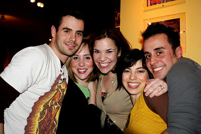 OCHSA alums Chad Doreck, Anna White, Lindsay Mendez, Krysta Rdriquez, and Vince Ortega all in the biz one way or another. 03/25/08