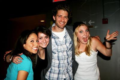 Kenzie, Joelle, Matt Morrison, and Kiki @ Nurse workshop in NY 05/06