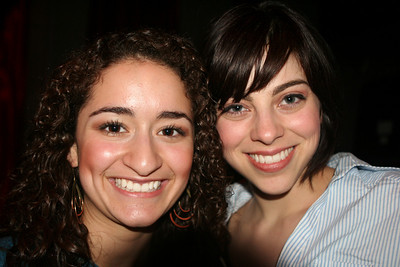 Joelle with Krysta Rodriquez..IN THE HEIGHTS and recently cast as Wednesday in ADAMS FAMILY
