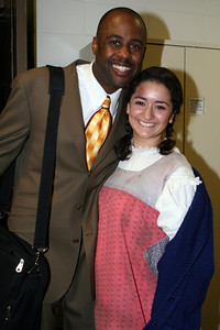 Terron Brooks and Joelle