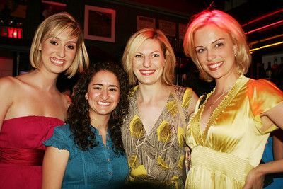 Sarah Remley, Joelle, Becca Ayers..SOUTH PACIFIC and Kelly Sullivan...YOUNG FRANKENSTEIN (she took Sutton Foster's part INGA)
