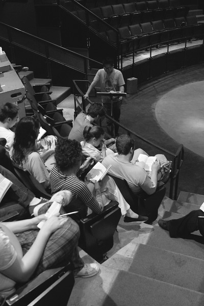 Notes before rehearsal