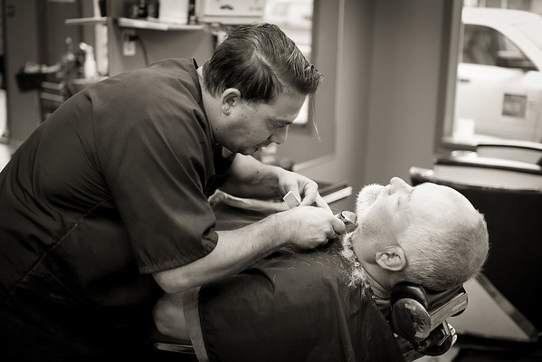 Barber Shop - BW-1