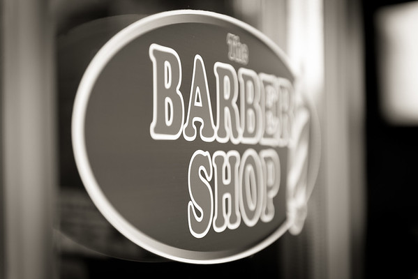 Barber Shop - BW-5