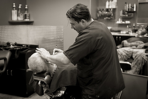 Barber Shop - BW-3