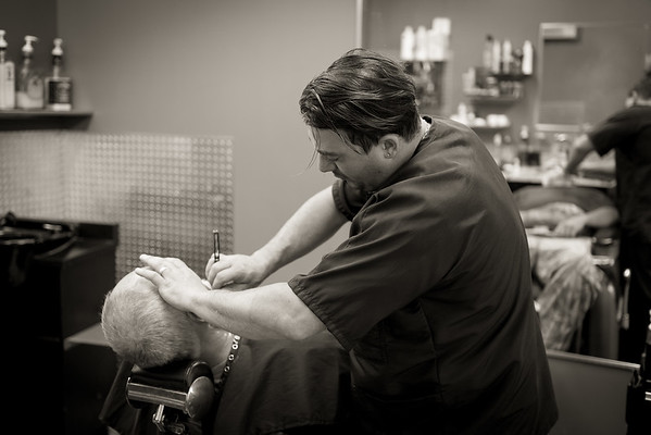 Barber Shop - BW-2