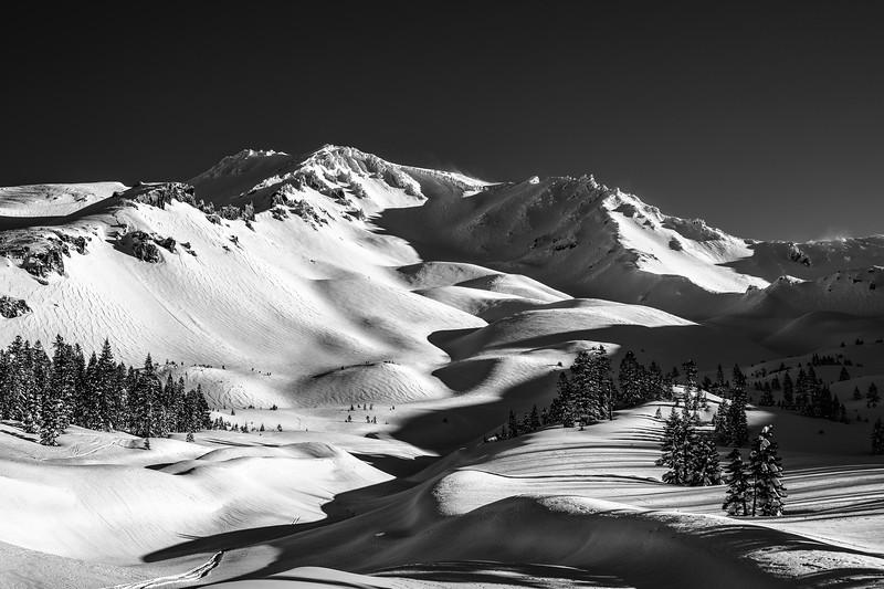 The Dawn Patrol in Avalanche Gulch