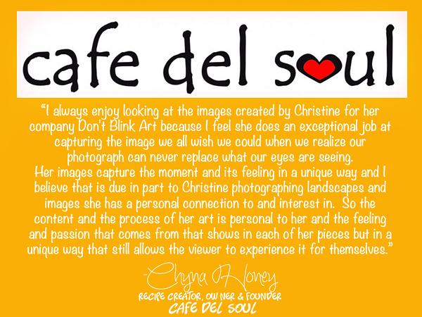 Chyna Honey, Cafe del Soul