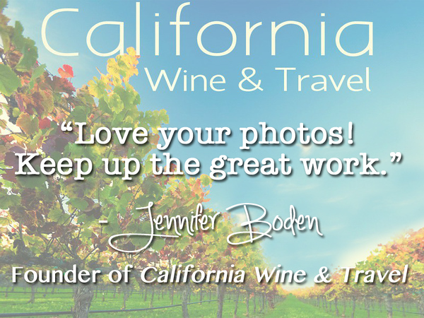 Jennifer Boden, California Wine and Travel