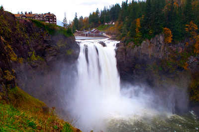 Fall in Snoqualamie