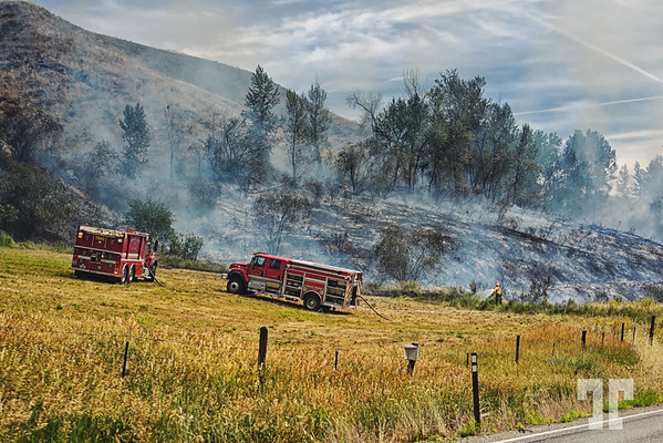 Firefighters in Montana