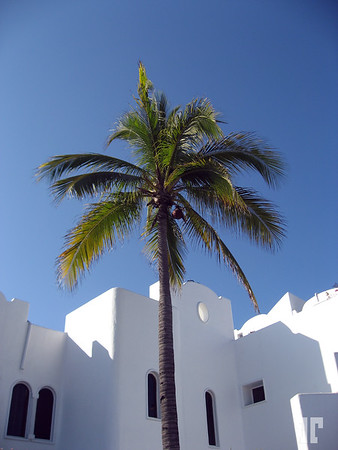 White architecture in Manzanillo, Mexico Architecture elements