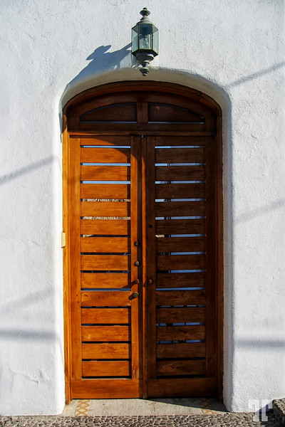 White wall and door in Mexico Manzanillo, Mexico Architecture elements