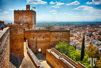 Climbing the Ancient Walls of Alhambra Tower