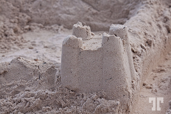 Sand Castle in Mexico