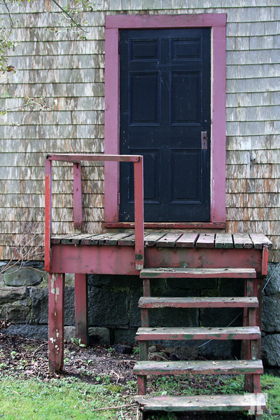 Old architecture in Shelburne, Nova Scotia South-West coast, Canada  (XX)