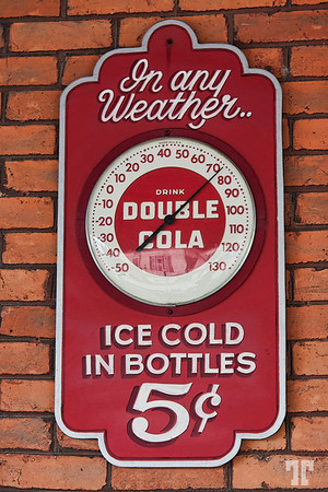 Coca Cola art deco style sign