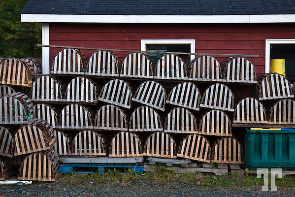 Lobster Traps in Newfoundland