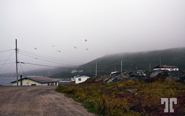 St. Lewis village, Labrador<br /> <br /> 2 days ago we left St. Mary heading North toward Goose Bay, on a cloudy,<br /> rainy weather. St. Lewis was the first stop, a very small, but nice and clean, <br /> village, well organized with lovely people.<br /> <br /> St. Lewis is the most East point settled in N. America<br /> <br /> - This, all East Labrador and Newfoundland are on the Greenland timezone,<br /> which is 1and 1/2 h earlier than the Eastern Standard Time<br /> Sept. 17, 2010