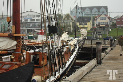 """Bluenose II "" the famous tall ship of Atlantic Canada, Lunenburg, Nova Scotia, Canada"