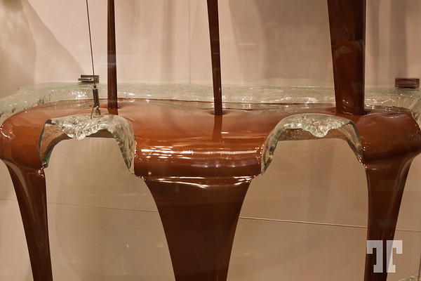 Bellagio chocolate fountain, Las Vegas  (ZZ)  (XX)