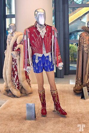 Liberace's Habsburg costume at the Cosmopolitan exhibit, Las Vegas