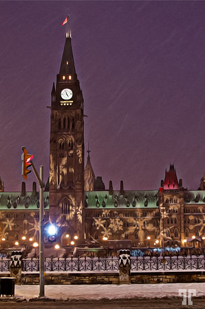Christmas night at the Parliament