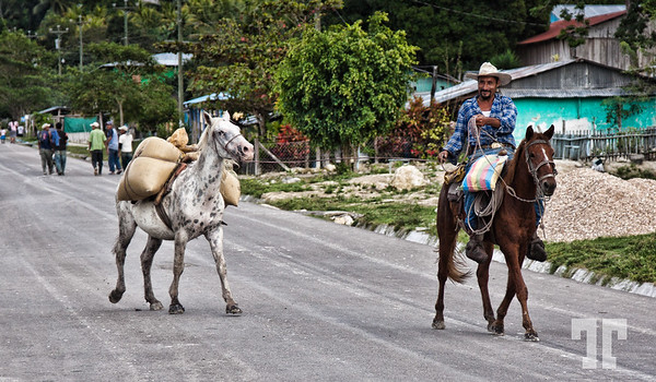 On the roads of Guatemala
