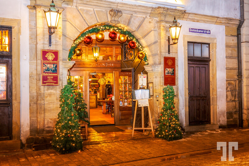 Winter Holidays in Bamberg, Bavaria, Germany