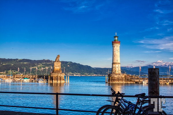 Lindau on Lake Constance, Germany