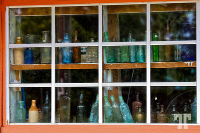 Window of the old bottle store