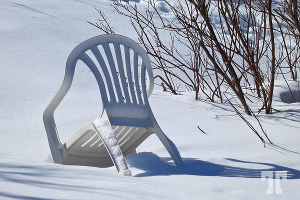 Discarded chair
