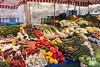 Vegetables market in Nuremberg, Germany