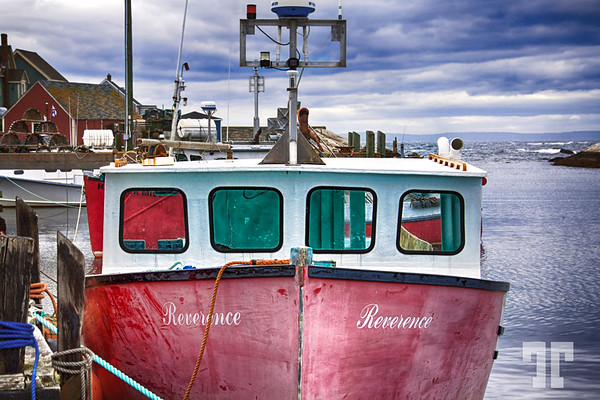 Fishing boat, Nova Scotia