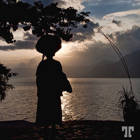 Feb. 18, 2010  Guatemalan woman on the lake Atitlan Guatemala people Lake Atitlán, Guatemala