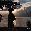 Feb. 18, 2010<br /> <br /> Guatemalan woman on the lake Atitlan Guatemala people Lake Atitlán, Guatemala