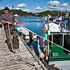 """Aug 27, 2010<br /> <br /> Rose Blanche Newfoundland fisherman - Rose Blanche, a small village in the """"Port au Basques"""" area<br /> <br /> Best viewed in a larger format. Newfoundland, Canada, Atlantic Canada, maritimes"""