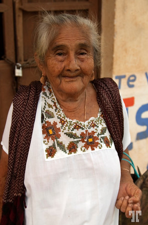 Mexican elder lady <br /> <br /> This is in a small town called St.Elena, (Yucatan, Mexico), near Uxmal arheological place.