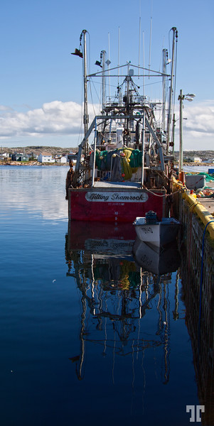 Industrial fishing in Fogo Island, Newfoundland