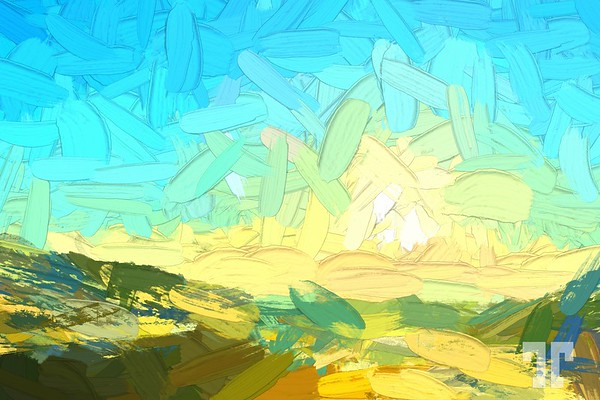 sunshine-montana-road-painting-abstract