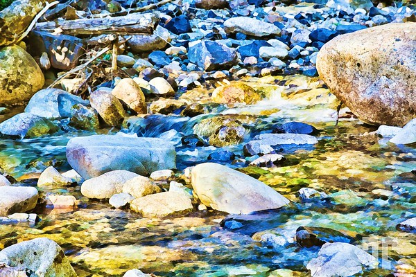 river-stones-cascades-washington-2-digital-watercolor