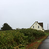 Rainy day in Lower West Pubnico Nova Scotia South-West coast