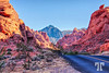 Fiery rocks in the Valley of Fire State Park
