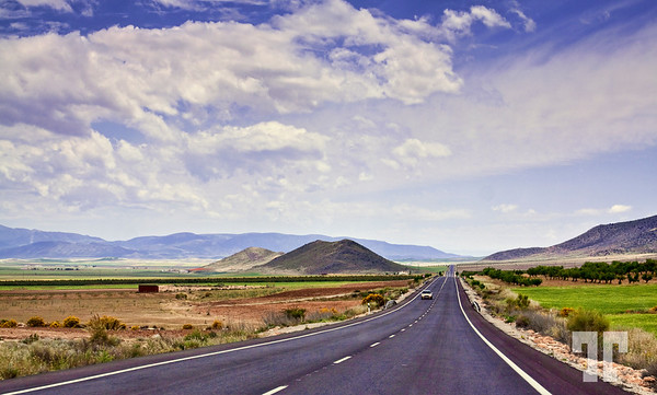 Road in Andalucia, Spain  (ZZ)