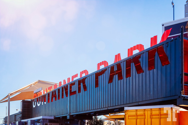 Container-park-sign