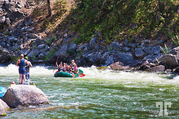 Rafting on Cascade River, Idaho  (ZZ)