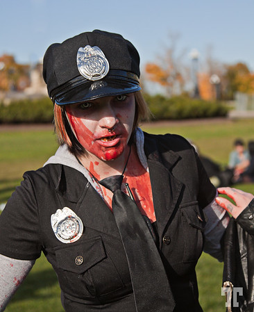 Oct. 24, 2010<br /> <br /> Ottawa Canada hot news!<br /> <br /> A bogus police woman was discovered yesterday in front of the Canadian Parliament<br /> and arrested - she was in fact a Zombie... :)<br /> <br /> Stay tuned, more info about this event will come in the next days! Ottawa