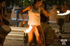 13 Jan. 09<br /> <br /> Dance<br /> <br /> In Cozumel plaza a group of students were performing for money.Cozumel, Mexico